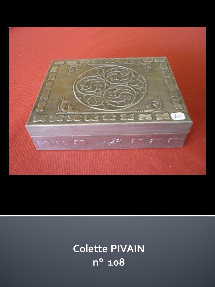 Colette PIVAIN n° 108