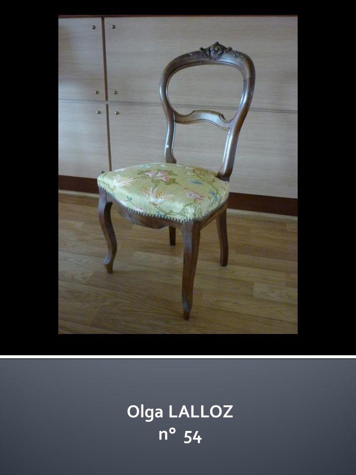 Olga LALLOZ n° 54