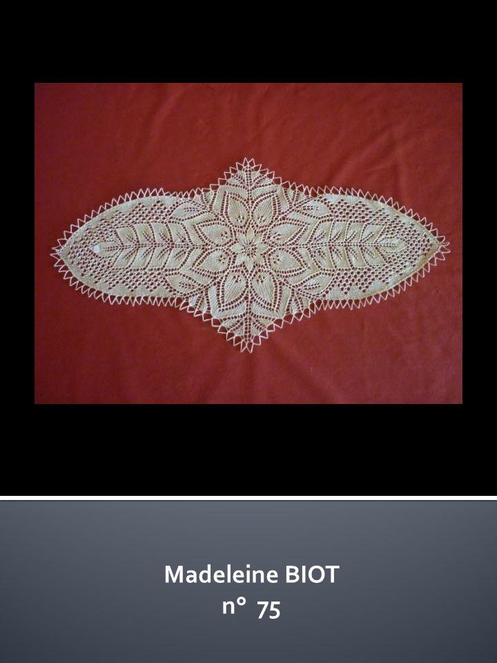 Madeleine BIOT n° 75