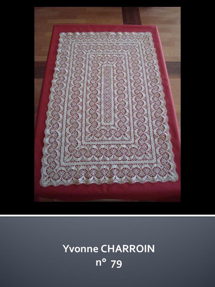 Yvonne CHARROIN n° 79