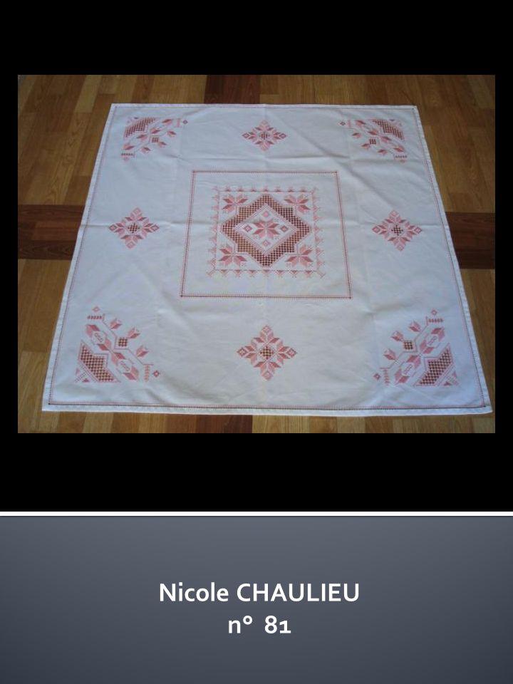 Nicole CHAULIEU n° 81