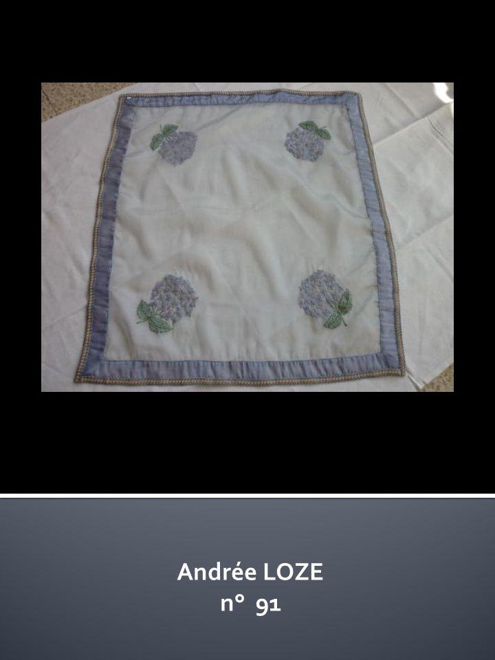 Andrée LOZE n° 91