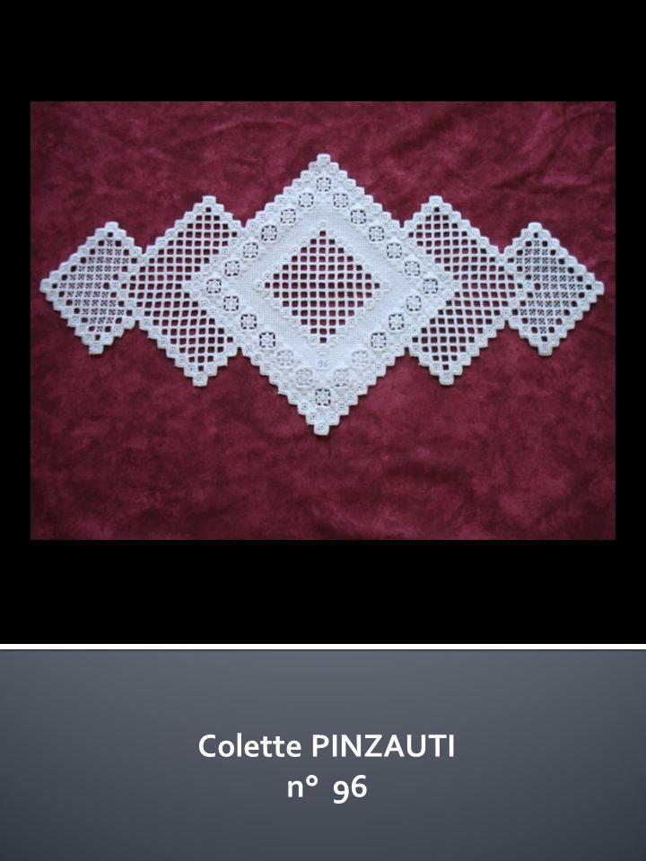 Colette PINZAUTI n° 96