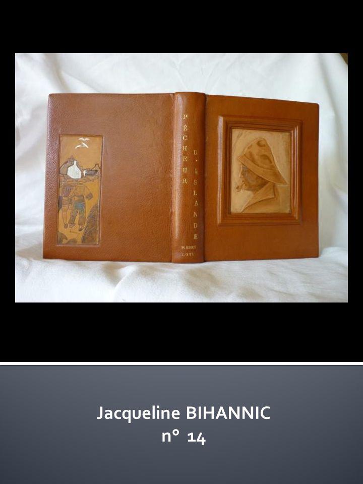 Jacqueline BIHANNIC n° 14