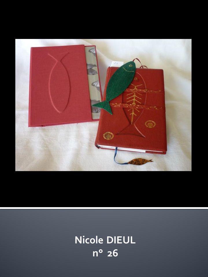 Nicole DIEUL n° 26