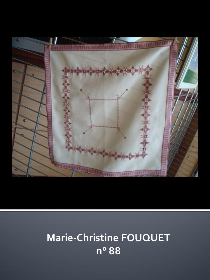Marie-Christine FOUQUET n° 88