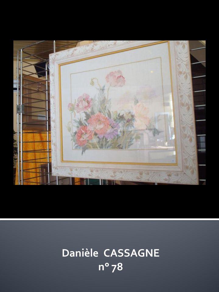 Danièle CASSAGNE n° 78