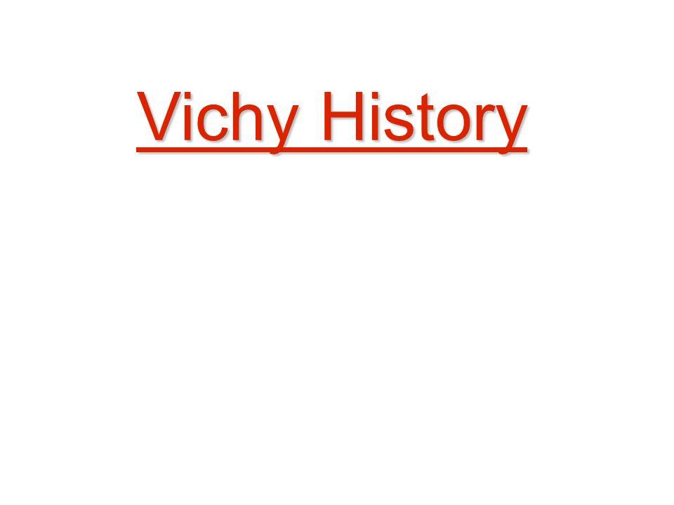 Vichy History