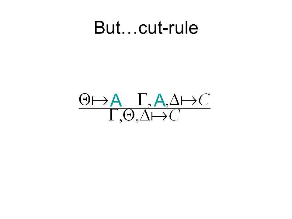 But…cut-rule AA