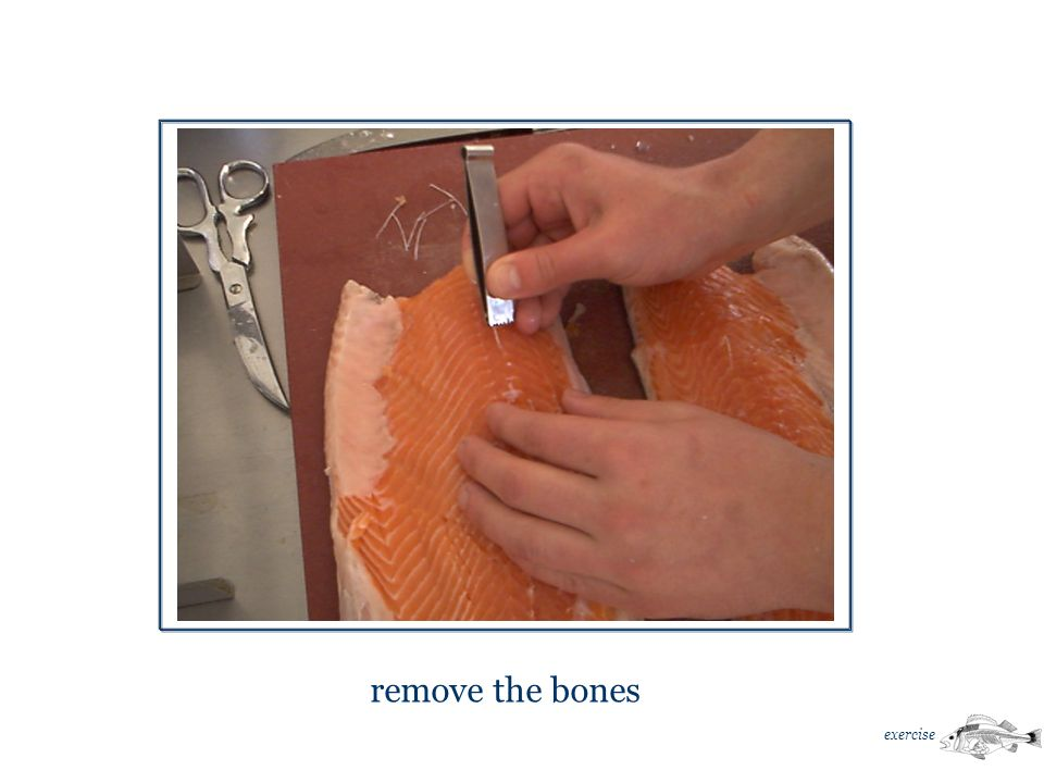 remove the bones exercise