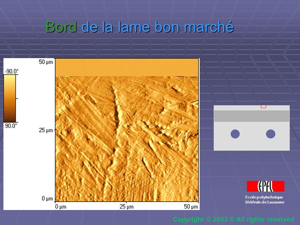 Zone de transition proche du bord Zone de transition proche du bord Ecole polytechnique fédérale de Lausanne Copyright © 2003 ® All rights reserved
