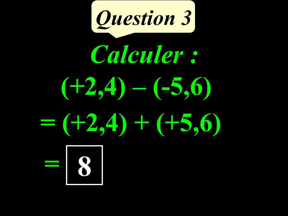 Question 2 Calculer la mesure de BAC.