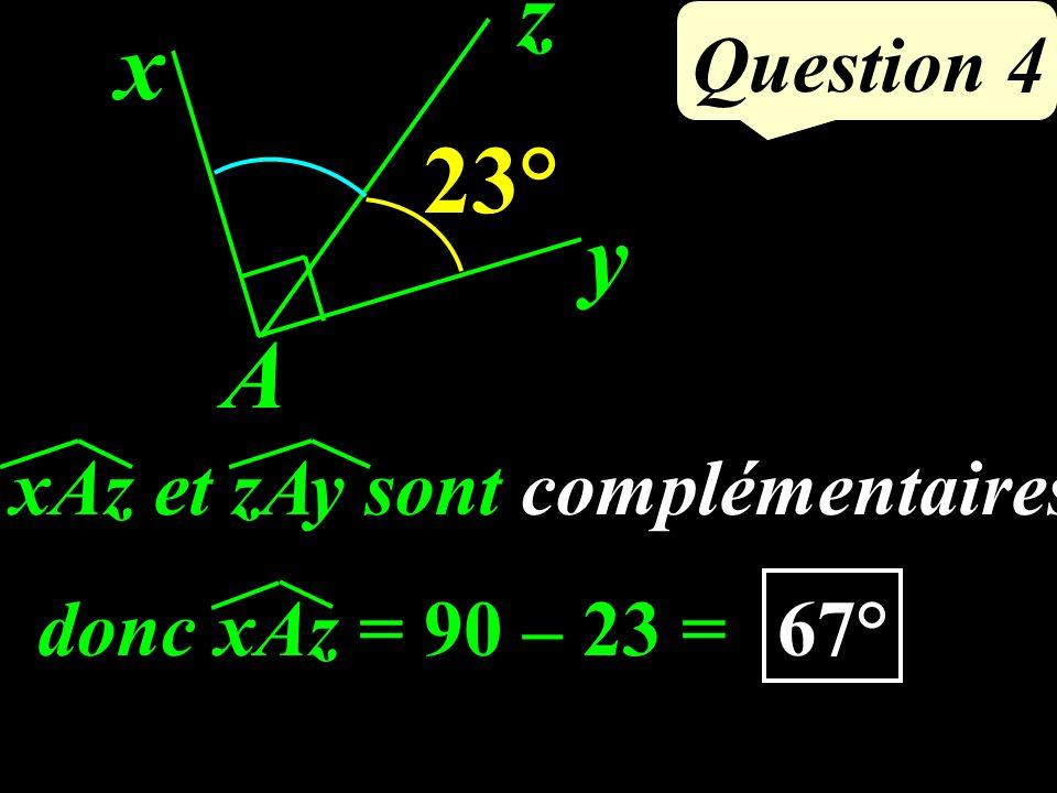 Calculer : (+2,4) – (-5,6) Question 3 = (+2,4) + (+5,6) = 8