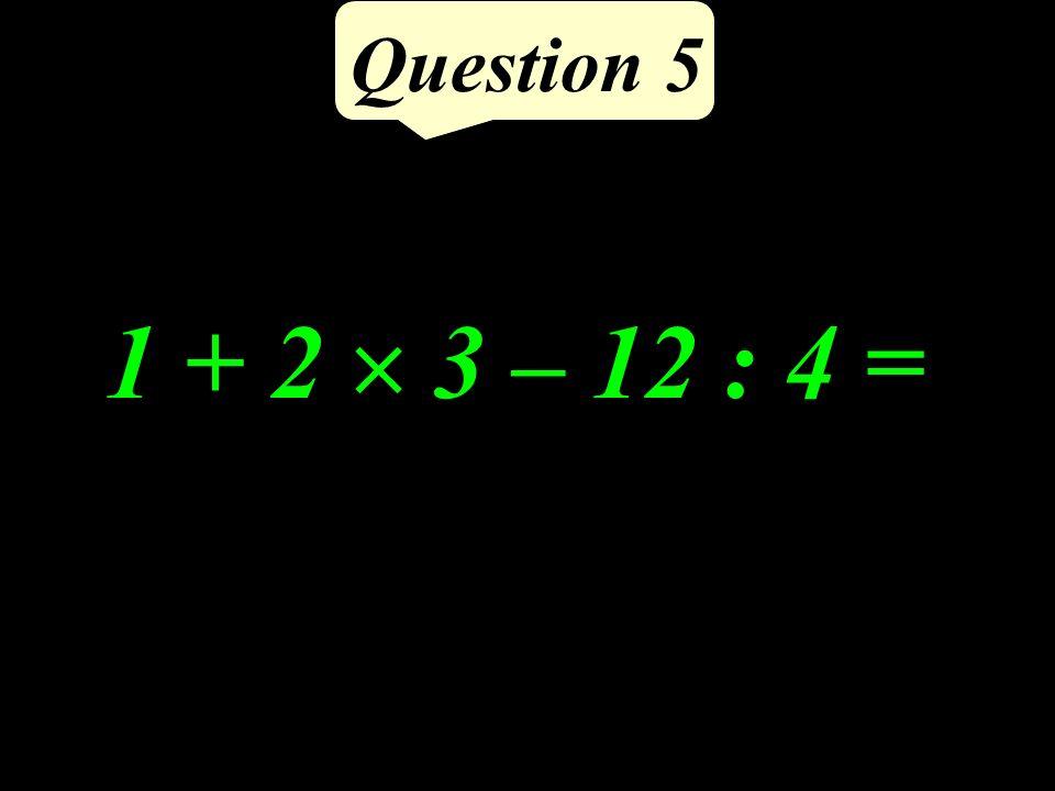 Question 4 Tracer le segment [IJ] et sa médiatrice. I J