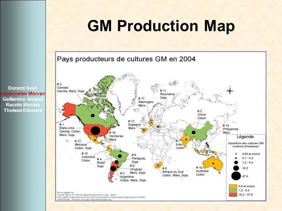 GM Production Map Durand Sven Lepannetier Morvan Gaillardou Arnaud Racoto Nicolas Thuleau Edouard