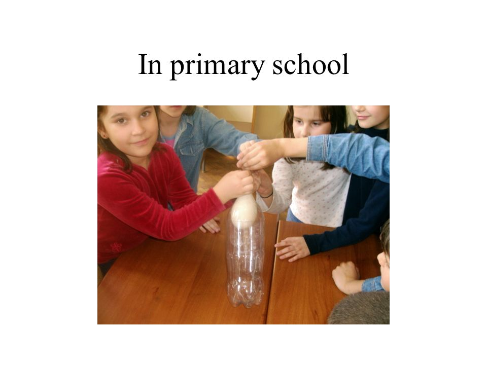In primary school