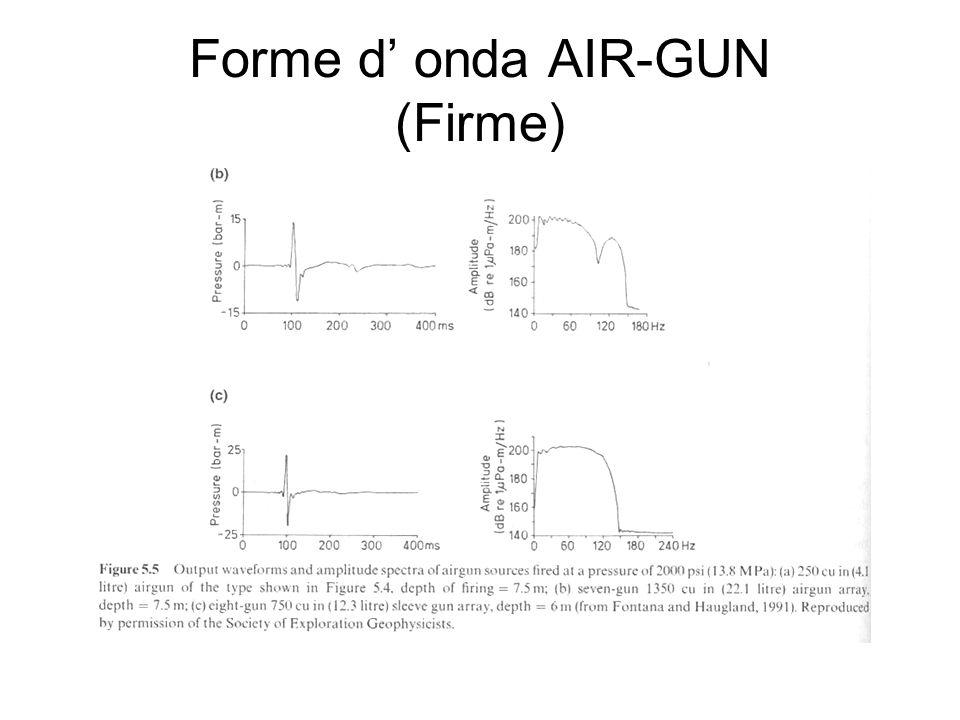 Forme d onda AIR-GUN (Firme)