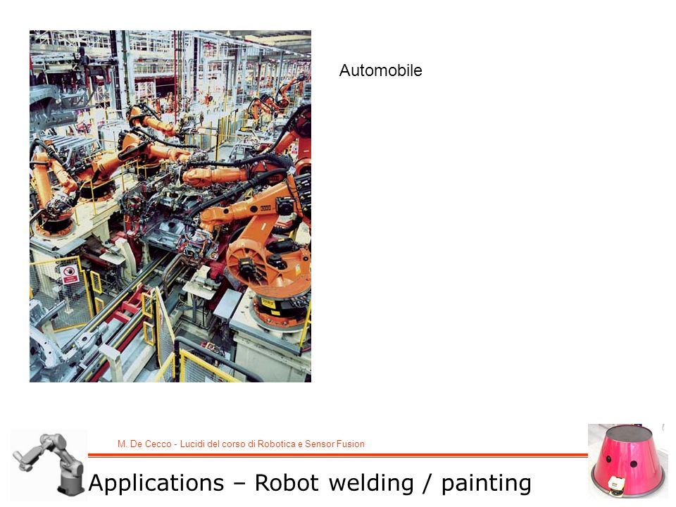 Automobile Applications – Robot welding / painting