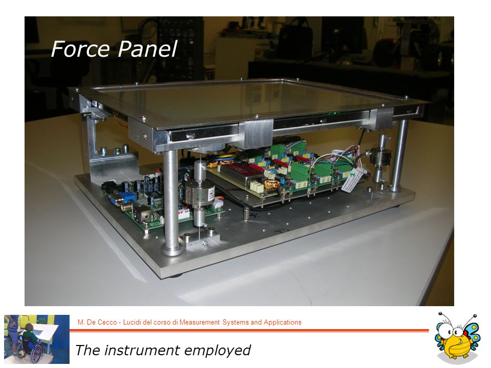 M.De Cecco - Lucidi del corso di Measurement Systems and Applications How its electronics work.