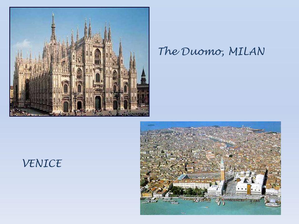 The Duomo, MILAN VENICE