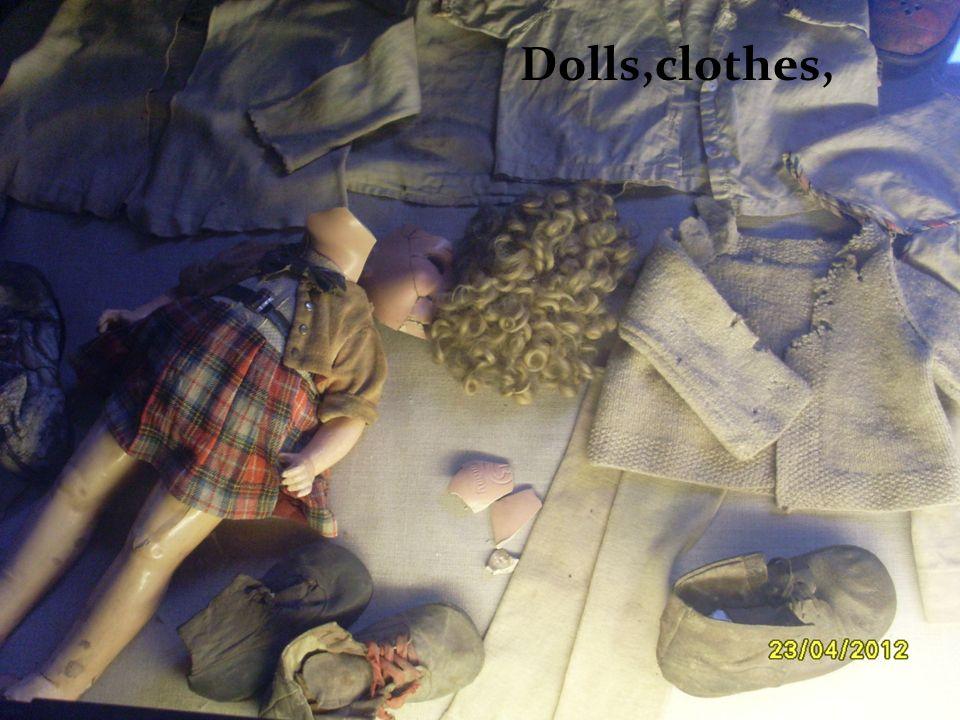 Dolls,clothes,