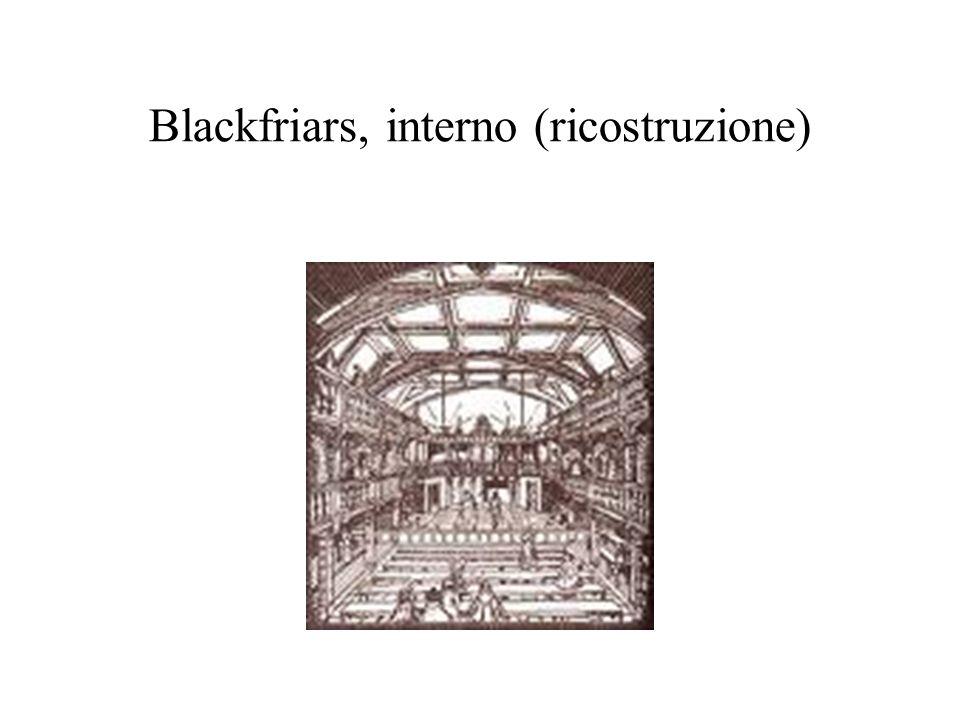 Blackfriars, interno (ricostruzione)