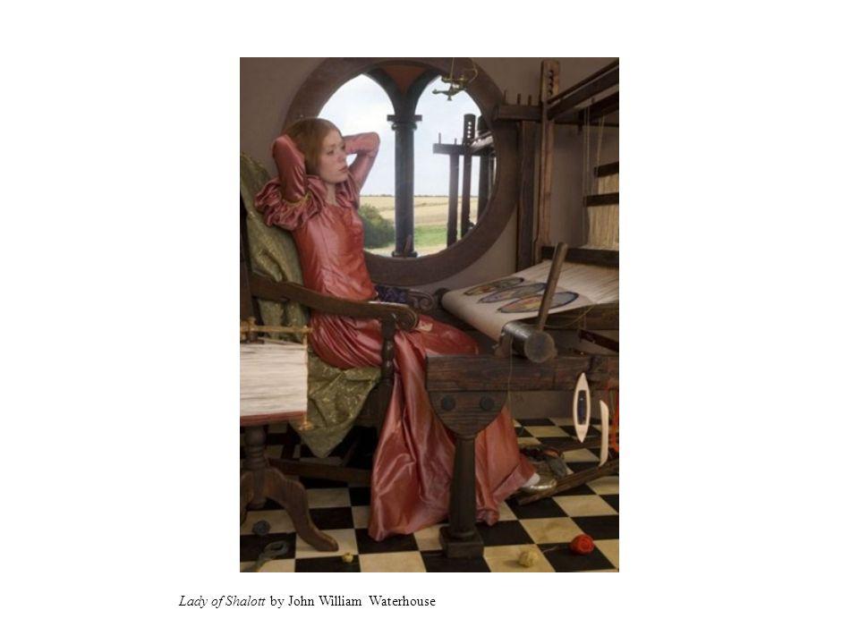 Lady of Shalott by John William Waterhouse
