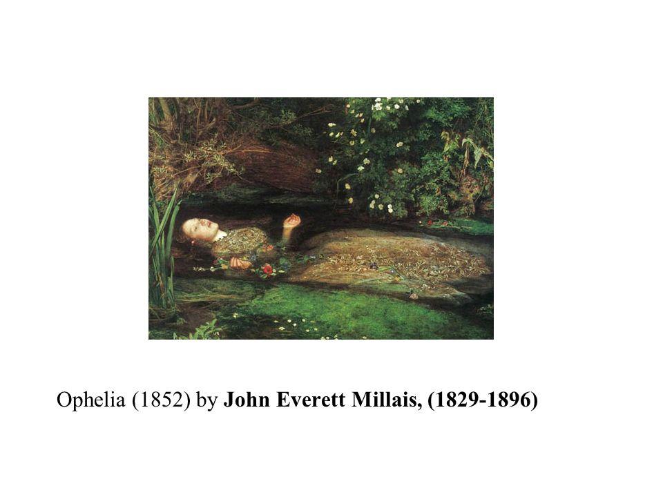 Ophelia (1852) by John Everett Millais, (1829-1896)