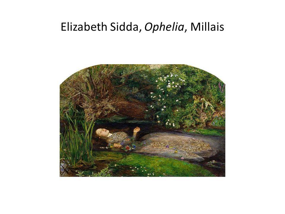Elizabeth Sidda, Ophelia, Millais
