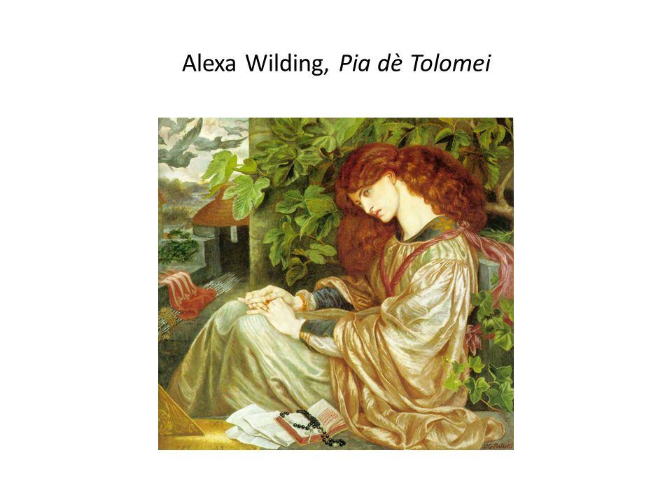 Alexa Wilding, Pia dè Tolomei