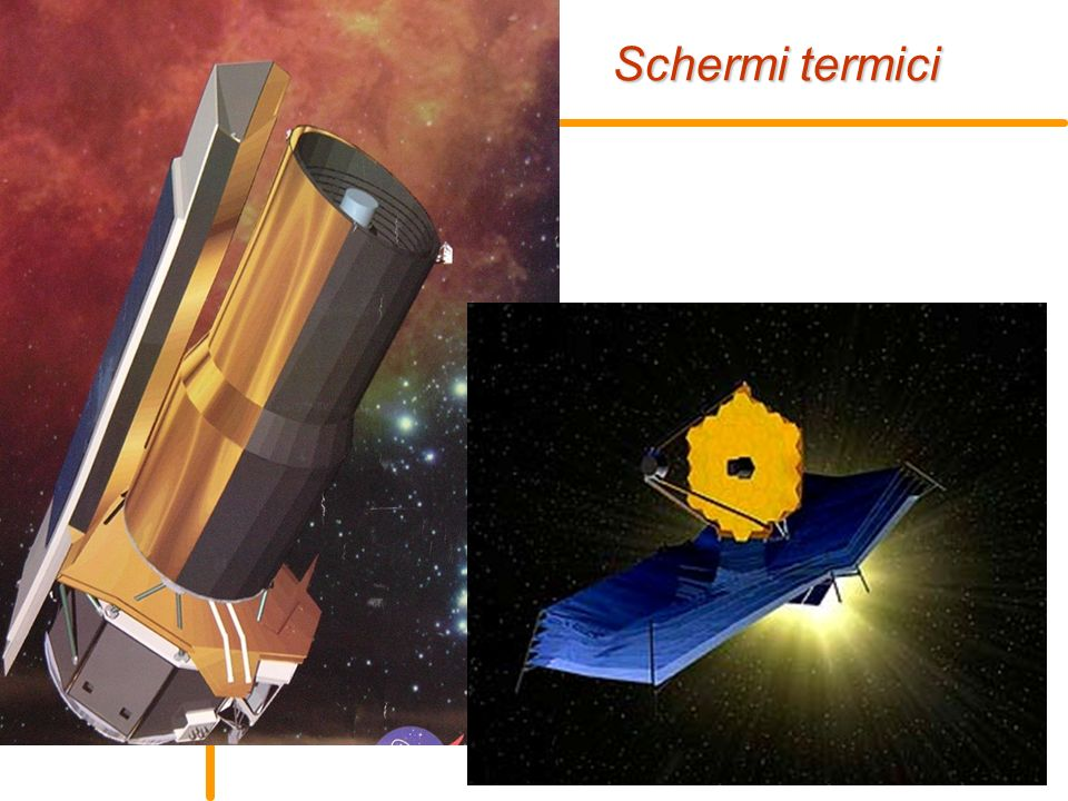 E. Pace - Rivelatori per lo spazio15 Schermi termici