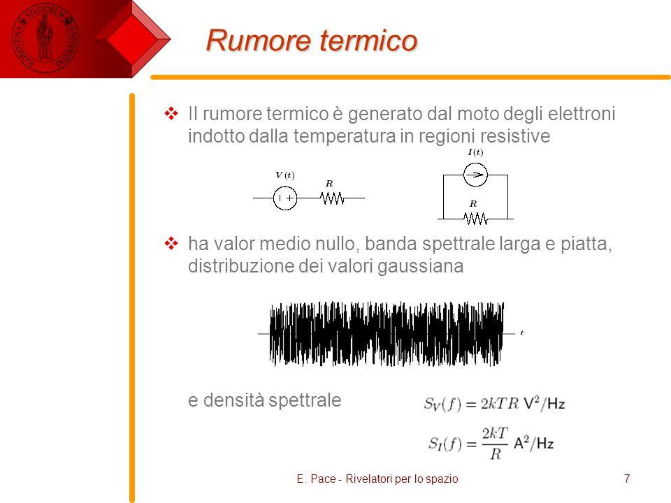 E. Pace - Rivelatori per lo spazio38 Fluxes & Sensitivity NEP = 5 x 10 -11 erg s -1 cm -2 nm -1