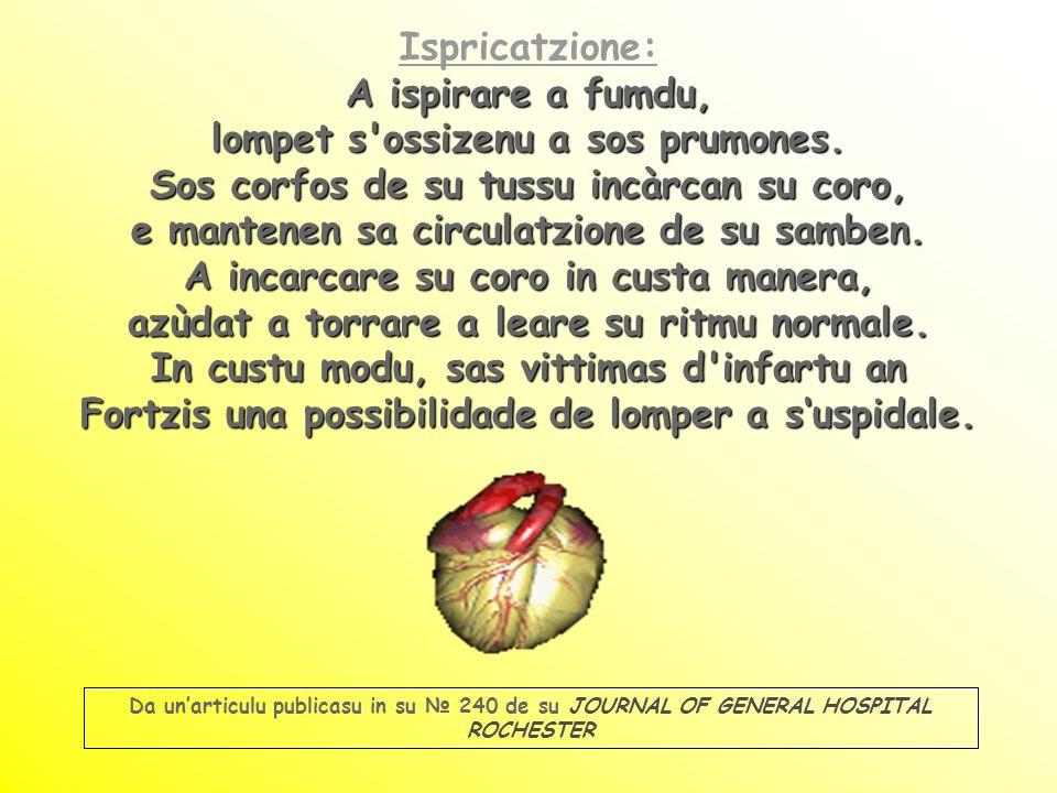 Ispricatzione: A ispirare a fumdu, lompet s ossizenu a sos prumones.