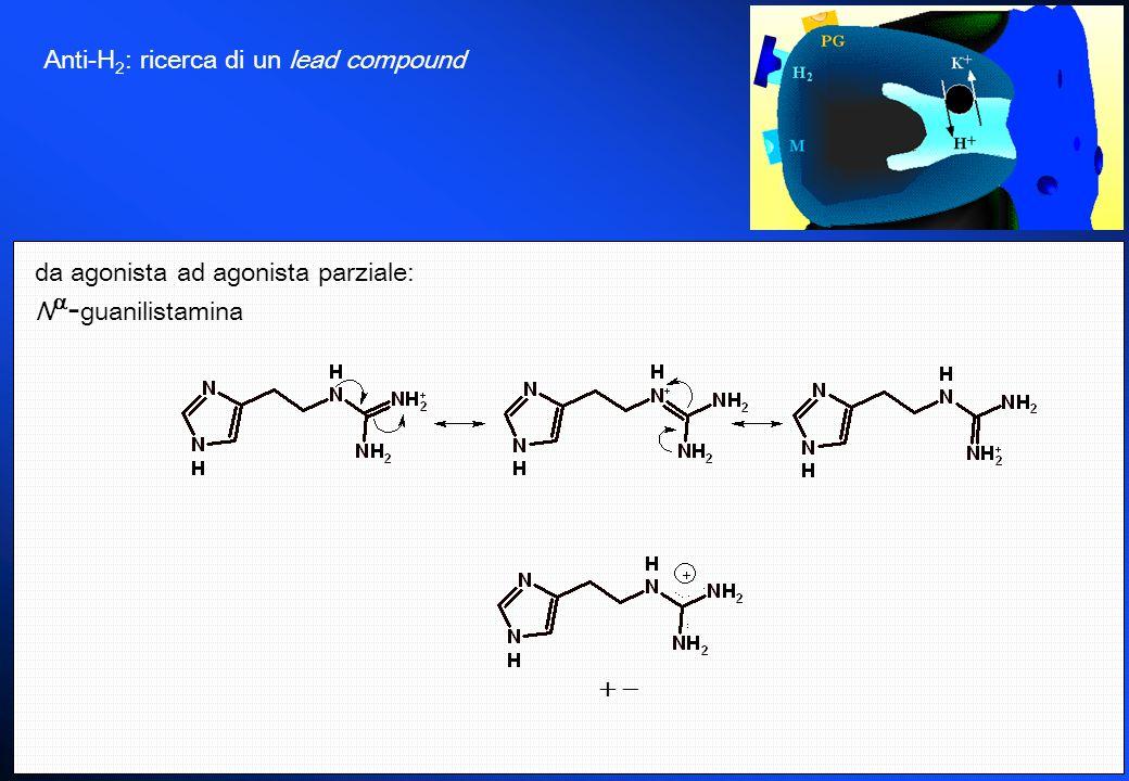 Anti-H 2 : ricerca di un lead compound da agonista ad agonista parziale: N - guanilistamina