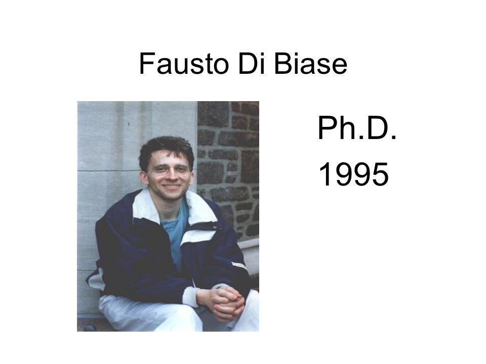 Fausto Di Biase Ph.D. 1995