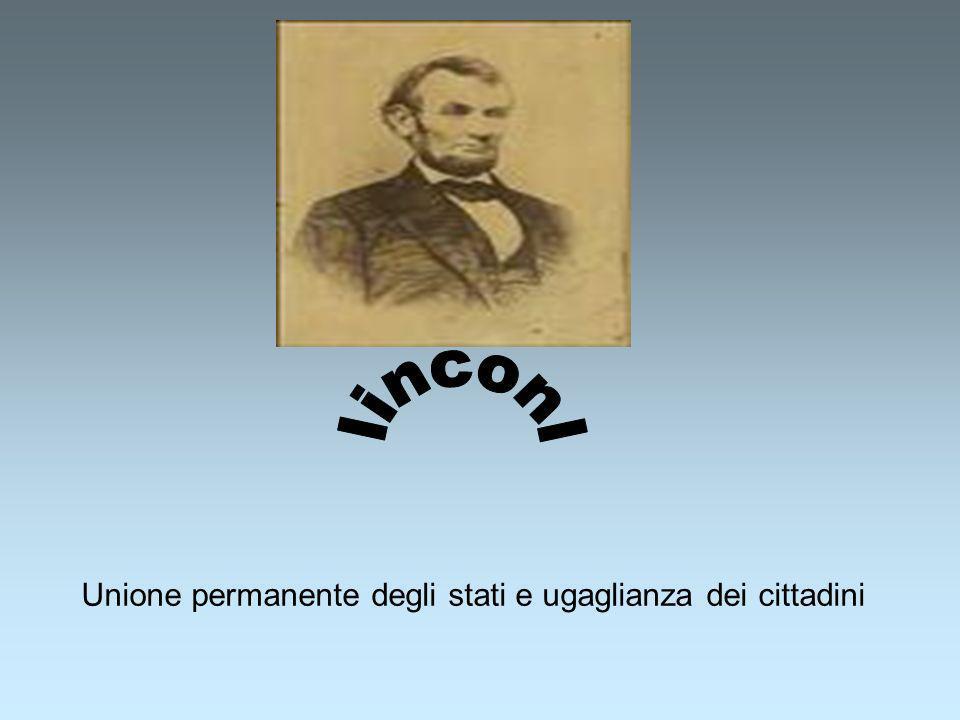 Unione permanente degli stati e ugaglianza dei cittadini