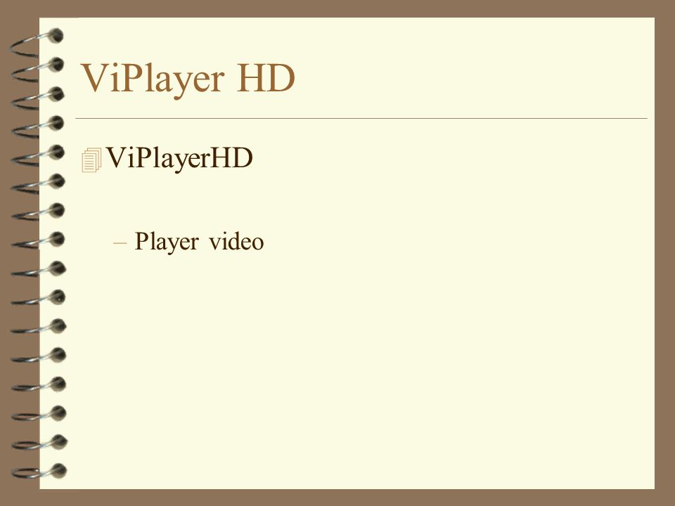 ViPlayer HD –Player video