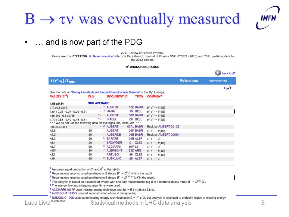 A Bayesian approach to Higgs search with small background Higgs search at LEP-I (L3)