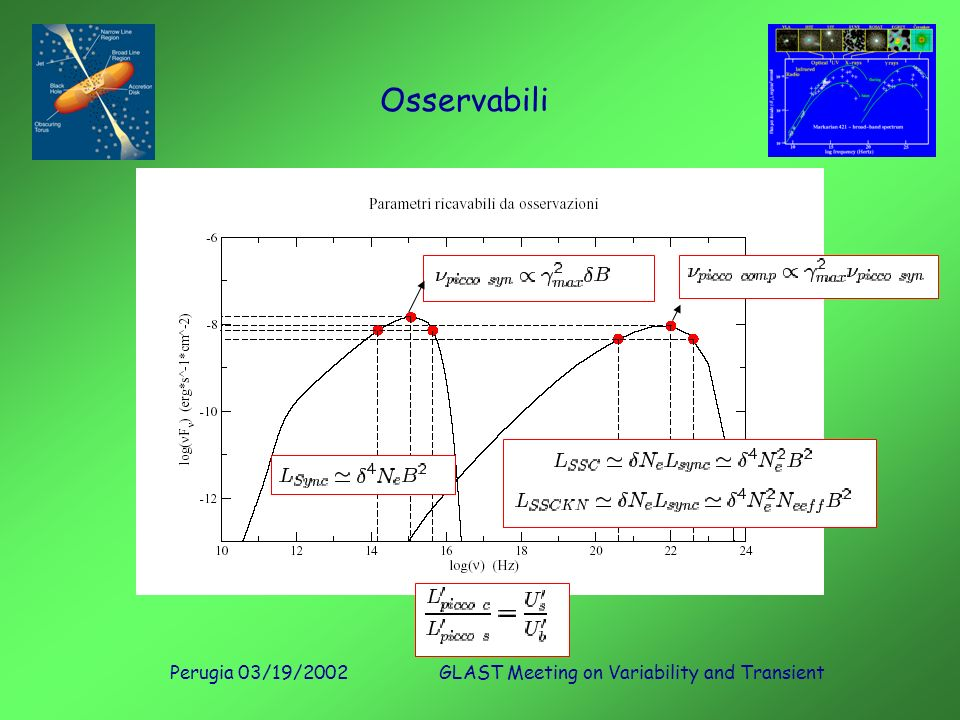 Perugia 03/19/2002GLAST Meeting on Variability and Transient Osservabili
