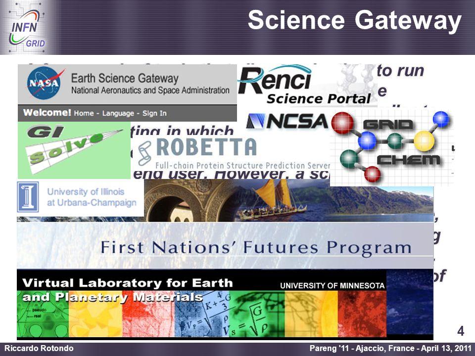 Enabling Grids for E-sciencE Liferay (www.liferay.com) Pareng 11 - Ajaccio, France - April 13, 2011 Riccardo Rotondo 5
