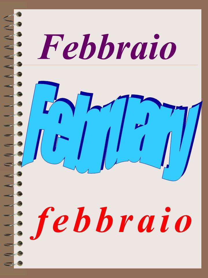 Febbraio f e b b r a i o f e b b r a i o