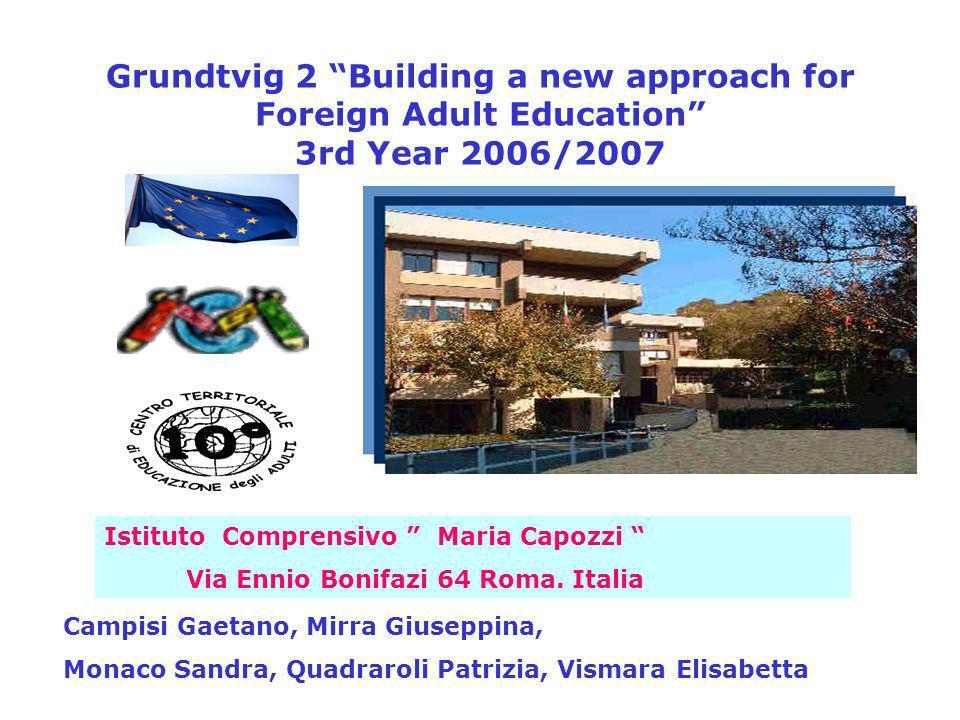 Istituto Comprensivo Maria Capozzi Via Ennio Bonifazi 64 Roma.