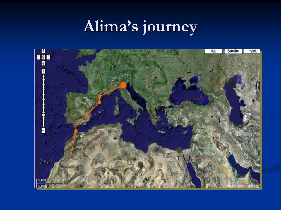 Alimas journey