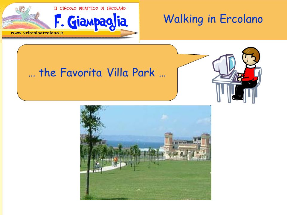Walking in Ercolano … the Campolieto Villa …