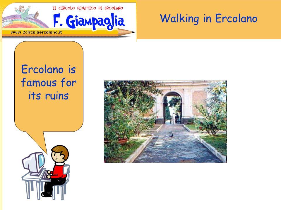 Walking in Ercolano... and Santa Maria of Pugliano Church