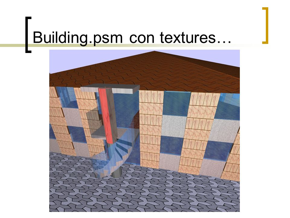 Building.psm con textures…