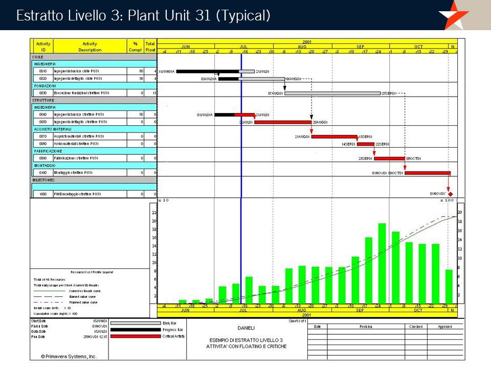 Estratto Livello 3: Plant Unit 31 (Typical)