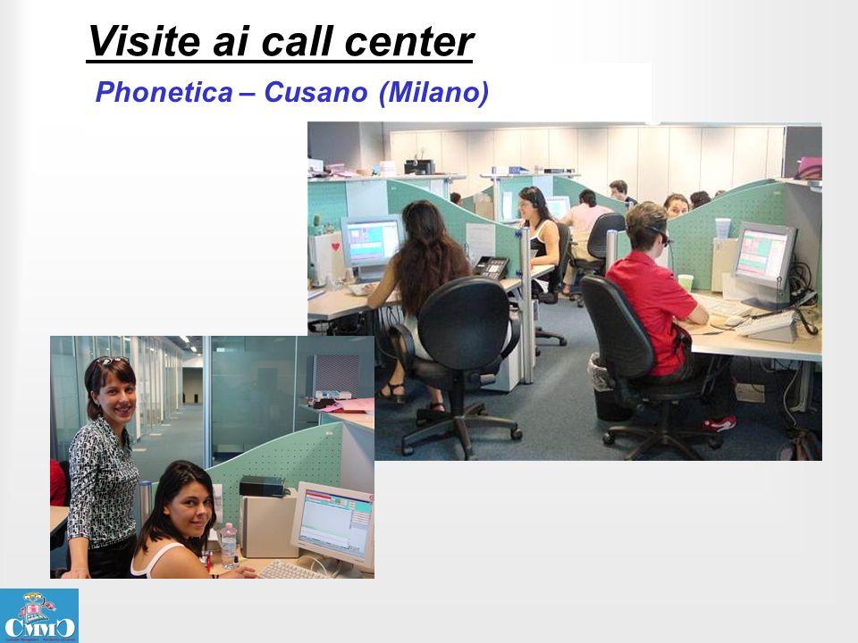 Visite ai call center Phonetica – Cusano (Milano)