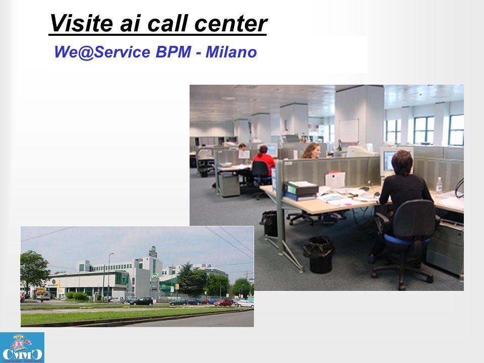 Visite ai call center We@Service BPM - Milano
