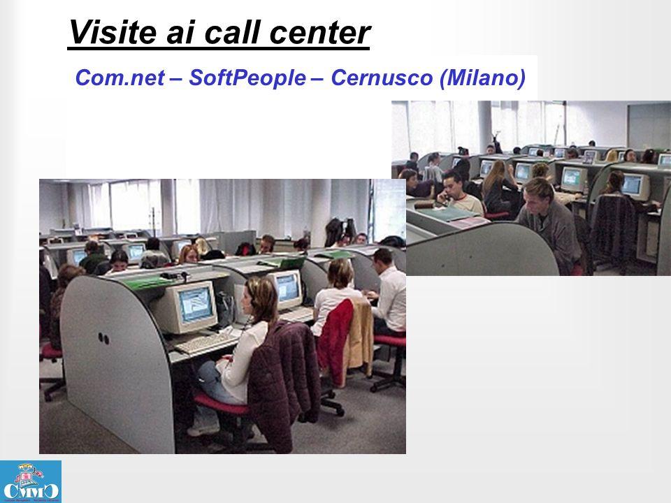 Visite ai call center Com.net – SoftPeople – Cernusco (Milano)